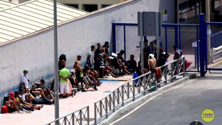Ya están en la península: Admiten el asilo a 250 de 322 marroquíes del 17M