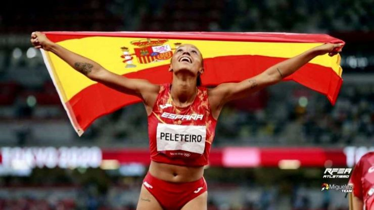 JJOO: Ana Peleteiro, bronce en Triple Salto