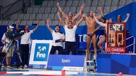 La selección masculina de waterpolo a por la medalla