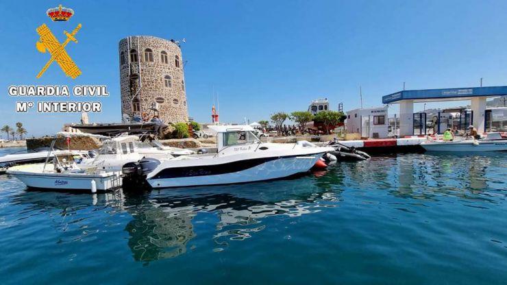 Ceuta: La Guardia Civil detiene a un residente e interviene 38 kilos de hachís
