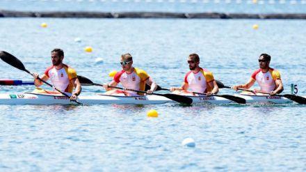 JJOO Piragüismo: Plata para el equipo español de K4