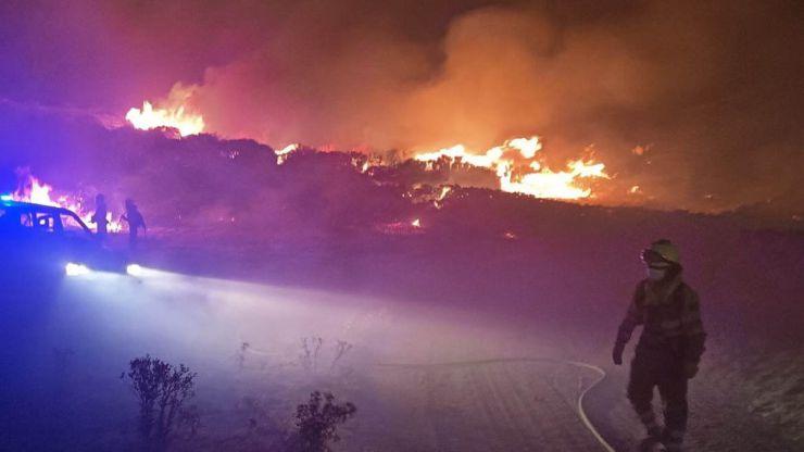 El incendio de Ávila ya es uno de los peores de nuestra historia
