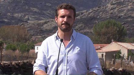 Casado visita Ávila: