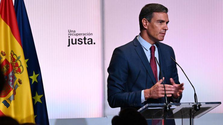 Sánchez anuncia la subida 'inmediata' del SMI y unos PGE 2022 clave para la 'recuperación económica justa'