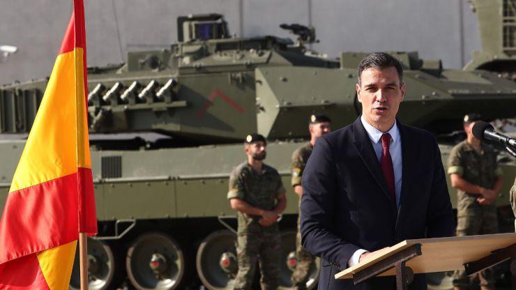 Pedro Sánchez, facha y franquista