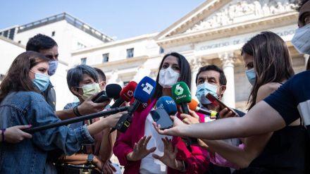 Arrimadas señala que 'los separatistas están muy subiditos' porque 'de ellos depende que Sánchez siga en Moncloa'