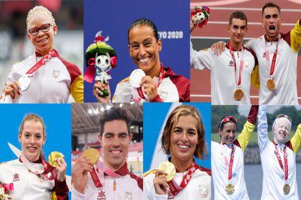 Brillante actuación de España en los Juegos Paralímpicos de Tokio 2020 con 36 medallas