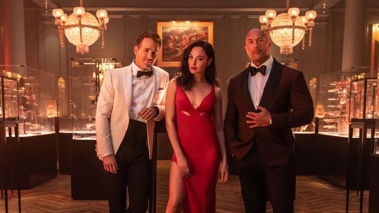 Así es la 'Alerta roja' de Netflix con Dwayne Johnson, Gal Gadot y Ryan Reynolds