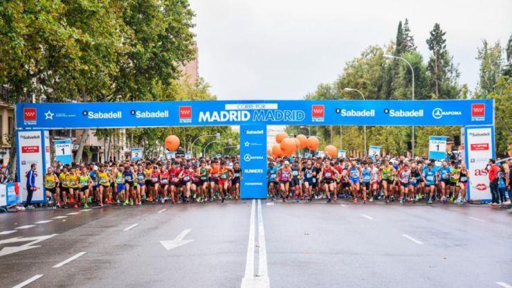 Nueva edición de la carrera solidaria 'Madrid corre por Madrid'