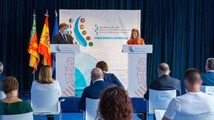 Foro del Mediterráneo Occidental: Díaz anuncia que Alicante albergará la reunión de ministros de Trabajo