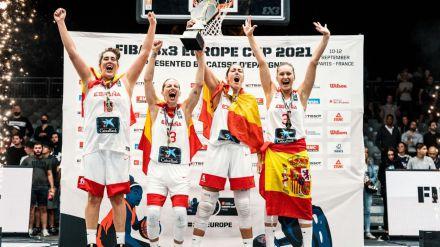 La selección femenina de baloncesto hace historia en París