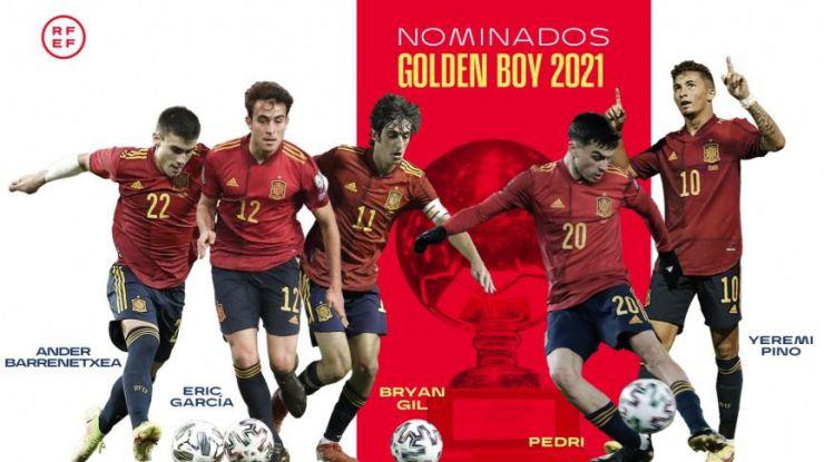 Golden Boy: Amplia representación de jugadores españoles entre los finalistas