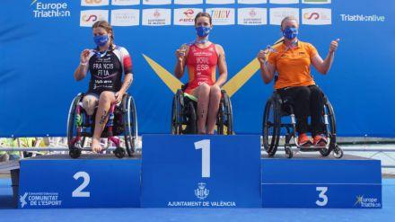 Campeonato de Europa de Triatlón: Los paralímpicos españoles triunfan con 8 medallas