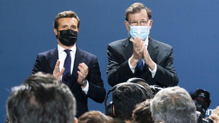 Casado tira de Rajoy para iniciar la reconquista del PP en la Convención Nacional del partido