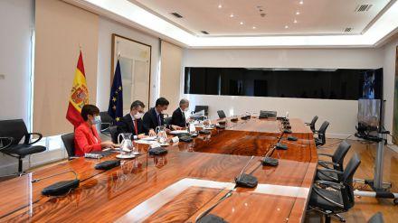 Sesión constitutiva de la Comisión Mixta en apoyo a la isla de La Palma