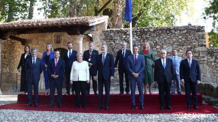 Entrega a Angela Merkel del Premio Europeo Carlos V