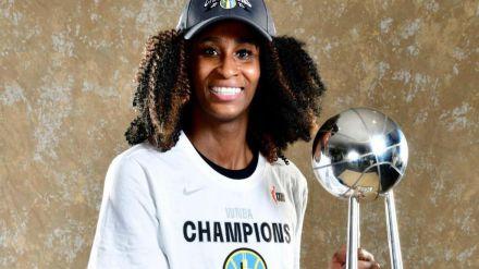Baloncesto: Astou Ndour se convierte en la tercera española campeona de la WNBA