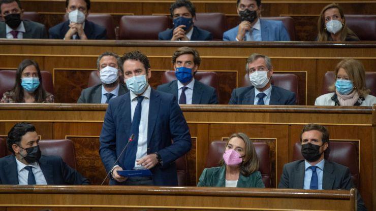 Egea acusa a Díaz de ser