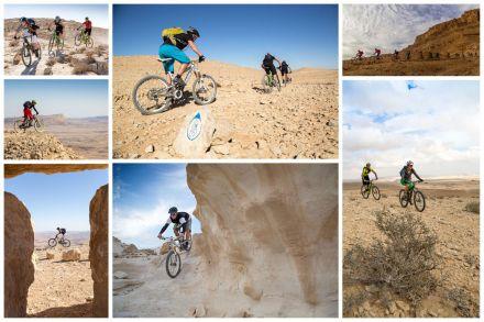 Ruta de cicloturismo por Israel