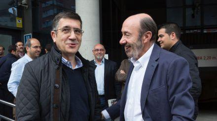 Patxi López y Alfredo Pérez Rubalcaba