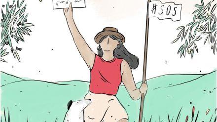 SOS campesinado: La lucha de un grupo de mujeres del mundo agroecológico y el feminismo