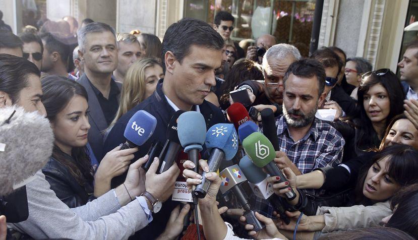Pedro Sánchez se compromete contra la violencia de género