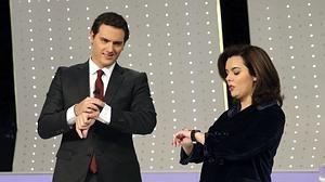 Rivera demuestra que apoyará al PP para gobernar