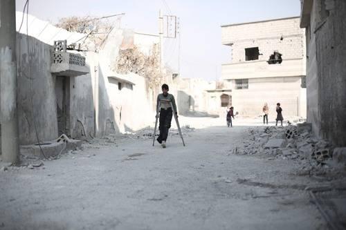 250.000 niños sirios viven una infancia bajo asedio