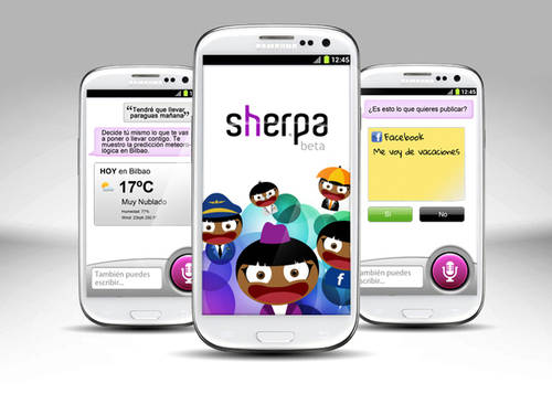 Sherpa llega a IOS