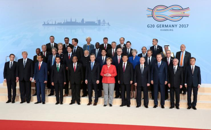 G20: burocracia a pleno, los niños desnutridos