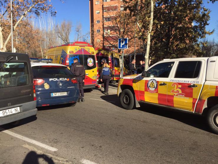 Aparece muerto con signos de violencia en una pensión madrileña