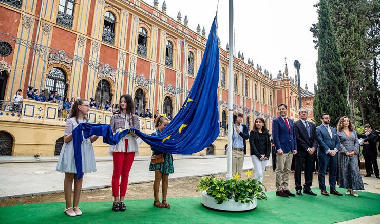 Juanma Moreno destaca el papel de Andalucía ante los retos de futuro en Europa