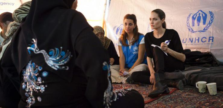 Angelina Jolie pide poner fin al conflicto en Yemen