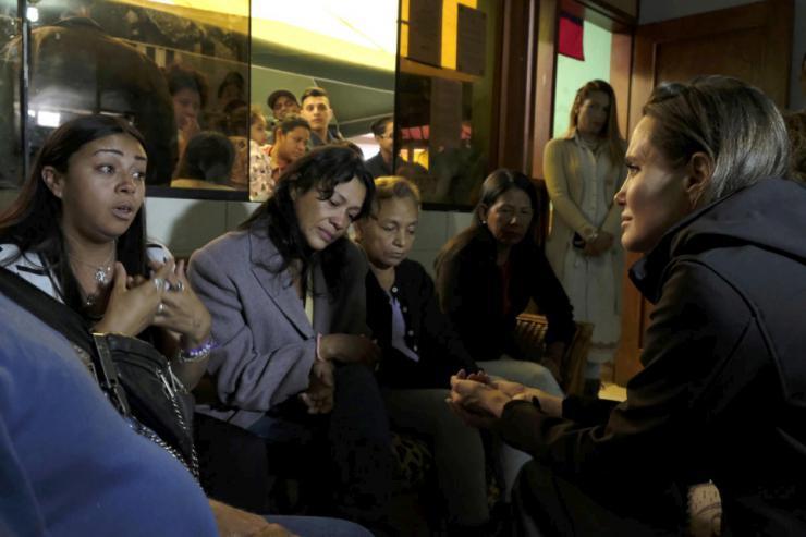 """Angelina Jolie: """"En Venezuela la situación es mucho más seria de lo que la gente cree"""""""