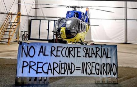 Helicópteros y aviones de emergencias: ¿huelga en el aire?