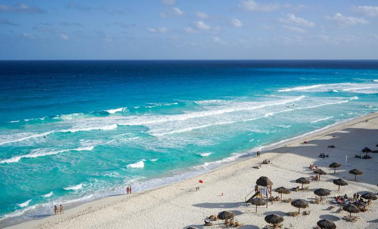 Cancún, la crisis del líder del Caribe