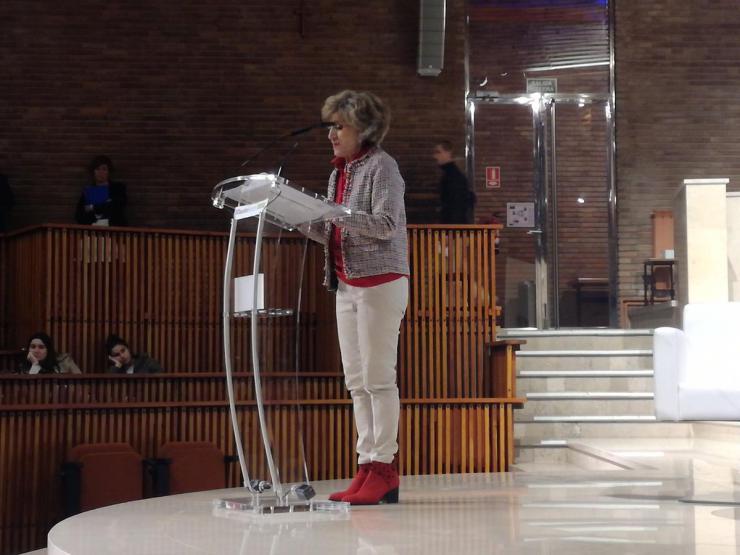 """Carcedo: """"Los jóvenes son hoy el colectivo con mayor riesgo de exclusión social de nuestro país"""""""