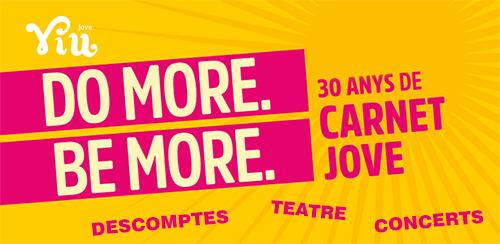 Ofertas especiales con motivo del 30 aniversario del Carnet Jove