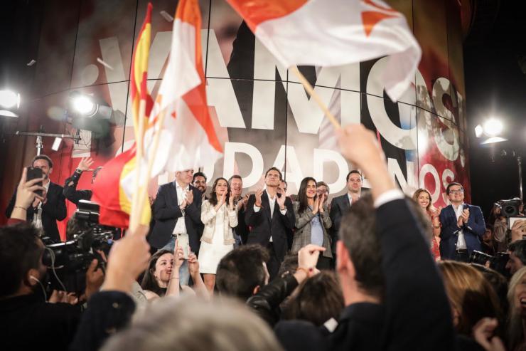 """Rivera: """"Ciudadanos se erige como la esperanza e ilusión del futuro de España"""""""