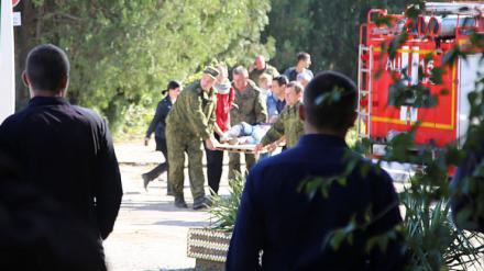 Matanza en un instituto de Crimea