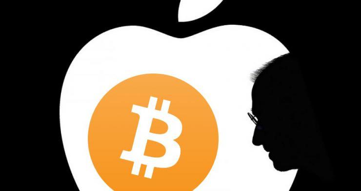 Apple también sucumbe a las criptomonedas