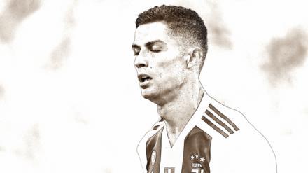 Cristiano Ronaldo da la cara