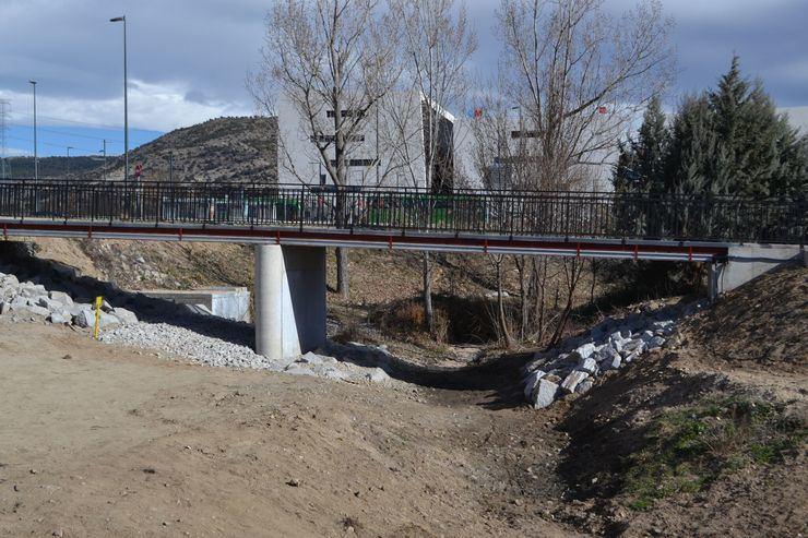 El Ayuntamiento de Collado Villalba ejecuta la pasarela peatonal de acceso al Hospital General