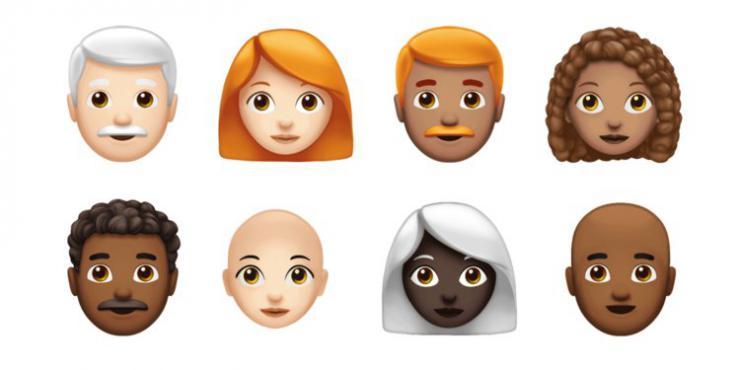 Apple y sus emoji más inclusivos