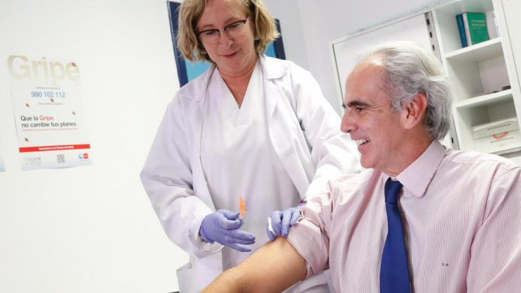 La Comunidad de Madrid inicia la campaña de vacunación frente a la gripe