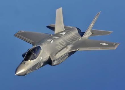 Un radar alemán localiza a dos cazas 'furtivos' estadounidenses
