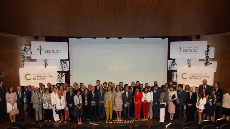 Aumentar en 15 puntos la supervivencia en cáncer, objetivo de los proyectos financiados por la AECC