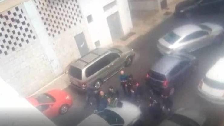Momento de la detención de Ana Julia Quezada, la presunta asesina