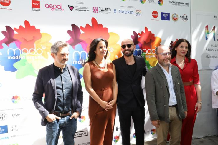 Begoña Villacís asistióa a la presentación del Orgullo Madrid MADO 2019