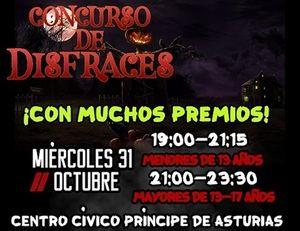 Fiesta de Halloween en el Centro Cívico Príncipe de Asturias en Villanueva del Pardillo
